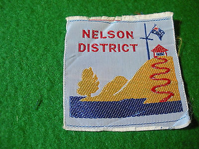 1960's Australian Scout Badge, N1 Nelson District, now EXT.
