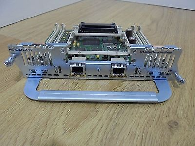 Cisco Nm-Hdv2-2T1/e1.free Uk Shipping. Ccna . Ccnp