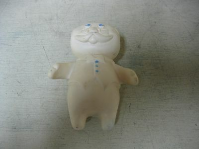 Vintage 1974 Pillsbury Doughboy Grandpa Rubber Soft Toy