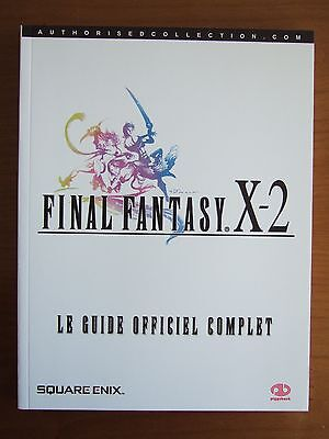 Guide Officiel Fr Final Fantasy X-2 Playstation 2 Ps2 Comme Neuf