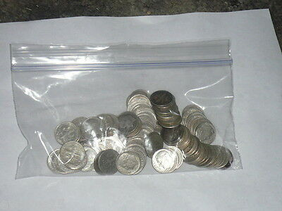 Lowest price! 90% Silver Roosevelt Dimes $5 Face Value 1 Roll 50 Coins
