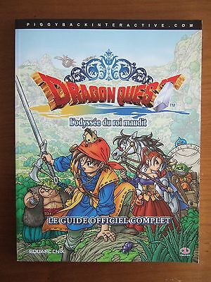 Guide Officiel Fr Dragon Quest Viii 8 Playstation 2 Ps2 Comme Neuf