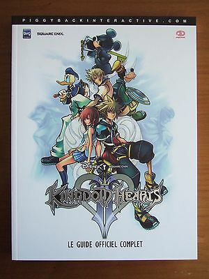Guide Officiel Fr Kingdom Hearts 2 Ii Playstation 2 Ps2 Comme Neuf