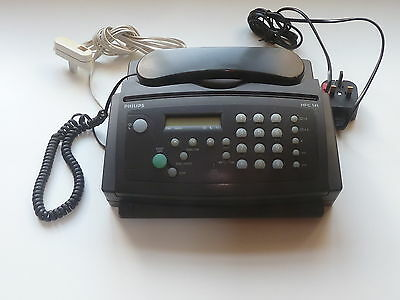 Philips Fax Phone Hfc141 With Instructions In Excellent Condition
