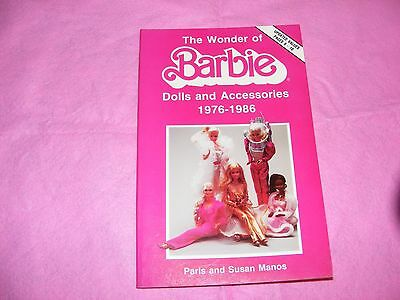 "Collector Guide Book ""The Wonder of Barbie"" ~~ Dolls from 1976 to 1986"
