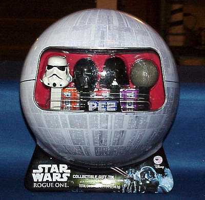 PEZ STAR WARS ROGUE ONE COLLECTIBLE GIFT TIN 2016 1.74 oz candy