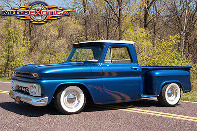 1965 Chevrolet C-10 C-10 1965 GMC C100 2WD Pickup,All steel stepside pickup with an aggresive stance