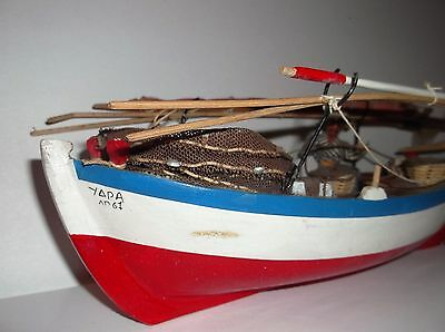 model fishing boat over 12 inches long