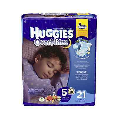Huggies Overnites Diapers - Size 5 - 21 ct