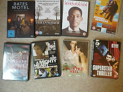 Job Lot of 7 DVDs