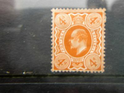 S.G 241  4d orange red mounted mint with nice colour