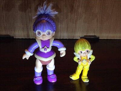 Rainbow Bright Figures Shy Violet And Canary Yellow
