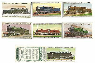 Lambert & Butler - World's Locomotives - 8/25 - 1912