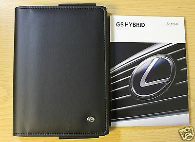 Lexus Gs Hybrid User Guide Handbook Owners Manual Wallet 2014-2015 Pack 8313