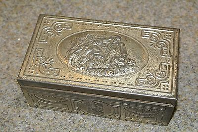 Beautiful vintage State Express Cigarette metal tin box collectable