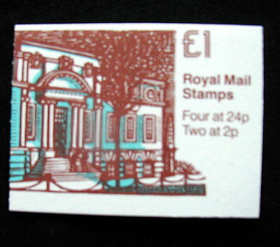 Great Britain Unexploded Complete Postage Stamp Booklet 1 £ UNIVERSITY OF WALES