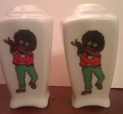 Collectable Porcelain,controvrsial, novelty Salt and Pepper Pots