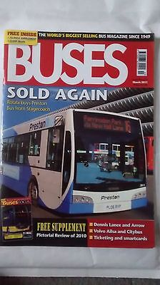 Buses Magazine issue 672 March 2011