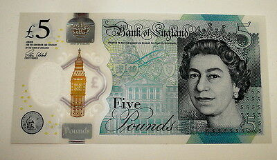 *   Rare  £5.00  Note   Aa 17  Serial  Number  *