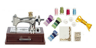 1/ 12scale Dolls house miniatures   Sewing Machine on Stand  G7326