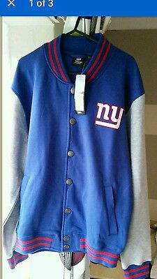 new york giants coat large nfl apparel