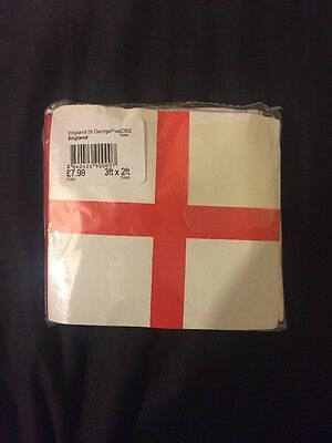 3ft X 2ft England St Georges Flag