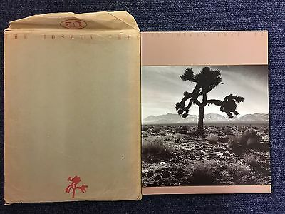 Very Rare Offical U2 Programme The Joshua Tree In Its Original Envelope
