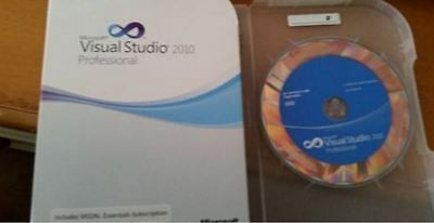 Microsoft Visual Studio 2010 Professional Full Retail Version C5E-00521