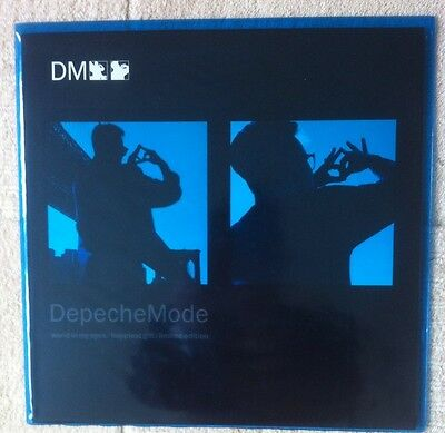 "Depeche mode, World in my eyes, Ltd 12"" vinyl single in SEALED  blue tint PVC."