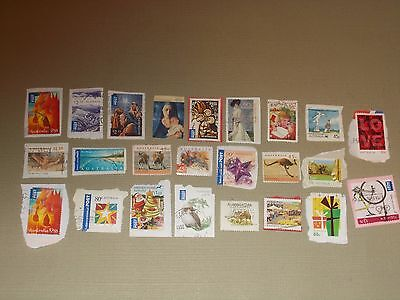 Collection Of  24  Australian     High Value    Stamps    Used