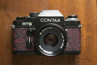 Contax RTS Body + New Battery - 35mm SLR Camera