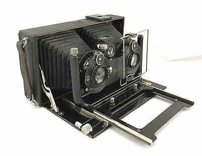 Vintage Camera - Ica Ideal Stereo 651 With Accessories
