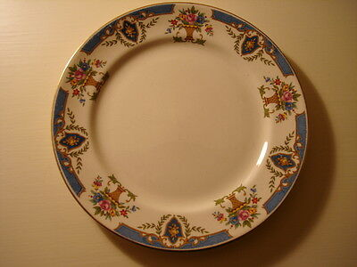 Set Of 4 Solian Plates Soho Pottery Cobridge England.