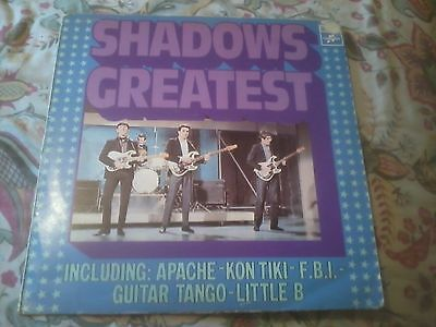 Shadows Greatest Vinyl Lp 1974 Columbia Netherlands Only Release Apache F.b.i.!