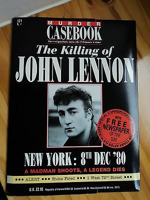 Murder Casebook - Special c/w newspaper of the killing of John Lennon 1980
