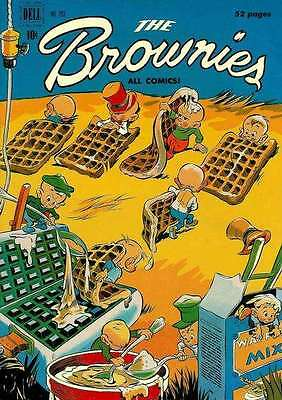Brownies #3 in Very Good + condition. FREE bag/board