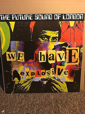The Future Sound Of London - We Have Explosive 12 Vinyl Record