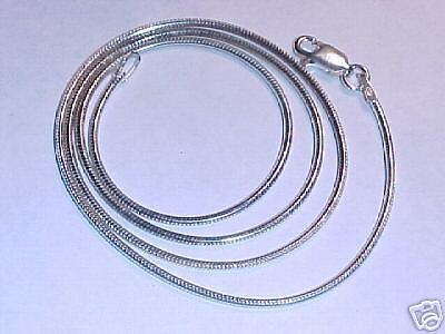 NEW Sterling Silver Supple Snake Chain Lobsta Clasp 331