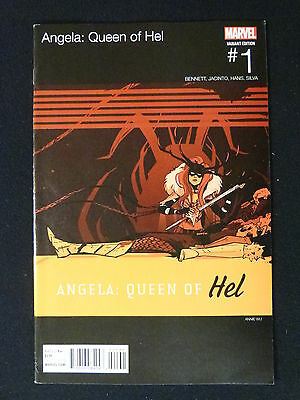 Angela Queen of Hell # 1 Hip Hop Variant Cover Marvel Comics