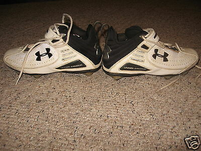 Mens UNDER ARMOUR Football Lacrosse Cleats Shoes Size 8