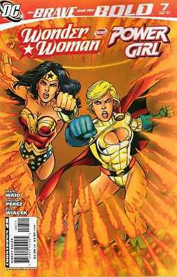 Brave and the Bold (2007 series) #7 in Near Mint + condition. FREE bag/board