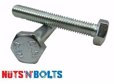 M7 & M8 Metric High Tensile Steel 8.8 Hex Head Zinc Bolts & Fully Threaded