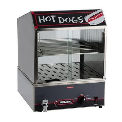 Nemco - 8300 - Hot Dog Steamer w/ Low Water Indicator Light