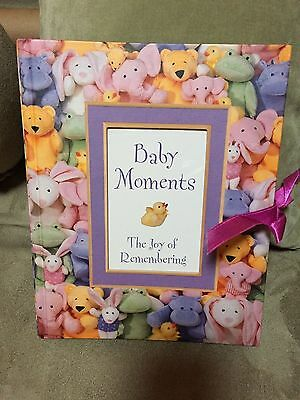 BABY MOMENTS  THE JOY Of Remembering1999 Photo Album 20 FRAMES NEVER USED ~SWEET