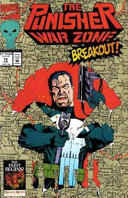 Punisher: War Zone (1992 series) #16 in Near Mint condition. FREE bag/board