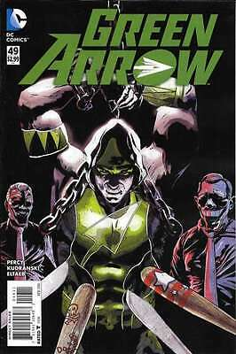 Green Arrow (2011 series) #49 in Near Mint condition. FREE bag/board