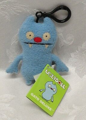 "GATO Keychain Pretty Ugly Doll Deluxe 4.5"" Tags 2007 Plush Teeth New Original"