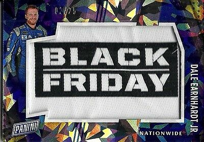 2016 Panini Black Friday Dale Earnhardt Jr. Cracked Ice Patch #d 25.  Sssp!!