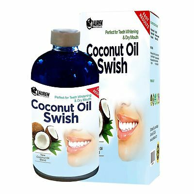 Coconut Oil Pulling and Mouthwash: Excellent for Teeth Whitening Dry Mouth & ...