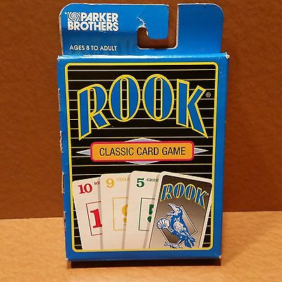 BRAND NEW Vintage 1992 ROOK Classic Card Game by Parker Brothers, Classic